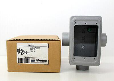 Appleton Fdt-1-75 34 Malleable Iron Cast Device Box Single Gang New In Box