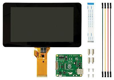 offizielles Raspberry Pi Display mit Touchscreen 7 Zoll - das Original