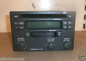 volvo v40 2002 2004 radio stereo cd cassette player unit