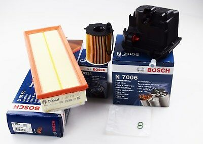 BOSCH CITROEN C3 C4 PICASSO 1.6 HDI DIESEL SERVICE KIT OIL AIR FUEL FILTERS