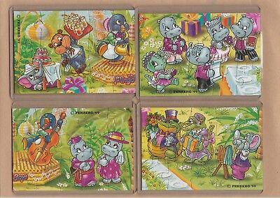 H.H. Hochzeit - Ferrero 1999 -  Komplett Satz - Puzzles + BPZ