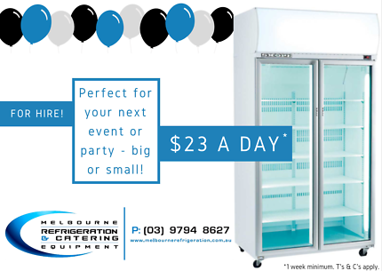 For Hire - Skope Glass Door Upright Display Fridges