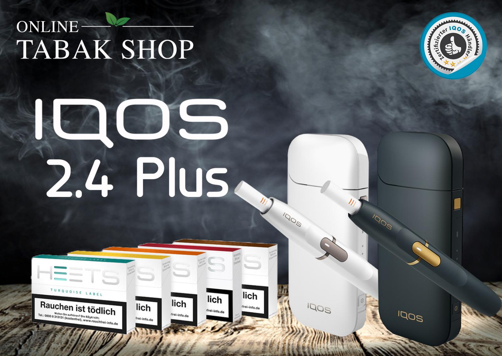 IQOS 2.4 Plus Starter Kit + 100 Heets NUR nach erfolgreicher Registrierung