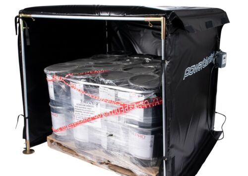 Bulk Material Warmer - Hot Box Heater - Powerblanket - HB48-1200 - 1200 Watts