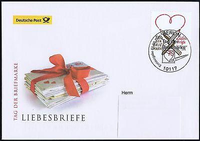 BRD 2016: Tag der Briefmarke Post-FDC Nr 3259! Berliner Stempel! Gelaufen! 1610