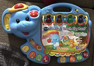 *price drop* VTech Touch and Teach Elephant