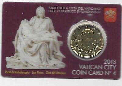 Vatikaan 50 cent coincard 2013  NR4