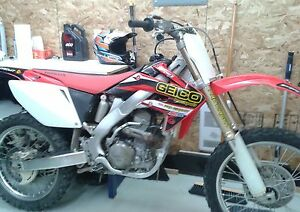CRF 250 HONDA 2007 double exhaust