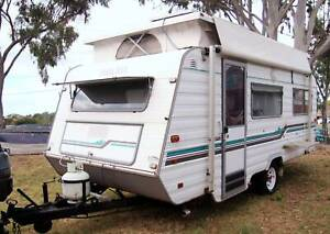 1996 17.3ft IMPERIAL PEDIGREE CARAVAN, SOLAR, AIRCON, FULL ANNEXE, Deception Bay Caboolture Area Preview
