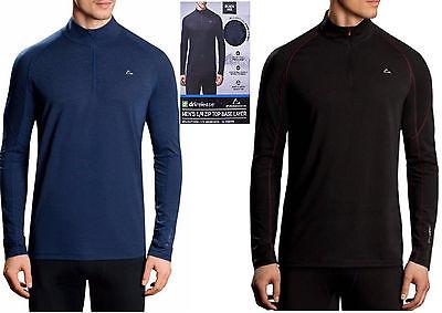 Mens Paradox Merino Blend Drirelease 1 4 Zip Top Base Layer Wool