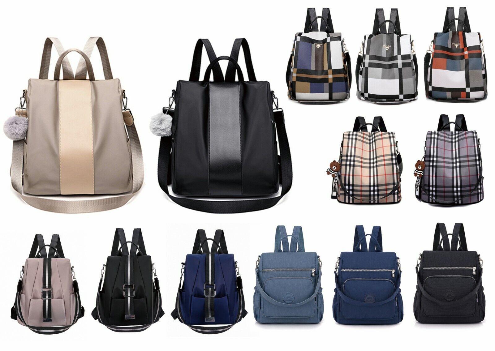 Damentasche Rucksack Anti Diebstahl Wasserabweisend Handtasche Schultertasche