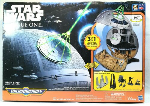 Star Wars Rogue One DEATH STAR Micro Machines 2016 Hasbro Pl