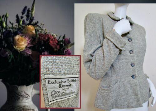 Vintage 40s Handmacker British Tweed Woman