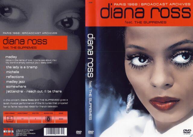 Diana Ross - DVD - Paris 1968 / Broadcast Archives - DVD von 2014 - NEU & OVP !