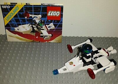 Vintage LEGO Space Set 6810 LASER RANGER 100% Complete & Instruction Manual