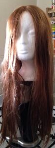 Golden Brown Heat resistant Straight Long Hair Wig Mulgrave Monash Area Preview