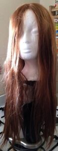 Golden Brown Heat resistant Straight Long Hair Wig Clayton Monash Area Preview