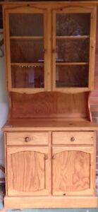 As new pine wood showcase cupboard Petersham Marrickville Area Preview