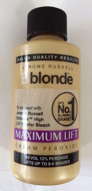 JEROME RUSSELL B BLONDE MAXIMUM LIFT CREAM PEROXIDE 40 VOL 12% 75ML