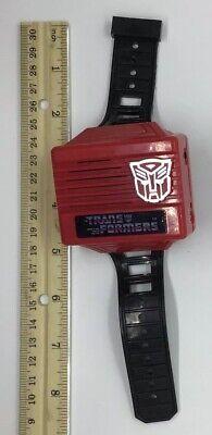 1984 Transformers Hasbro Bradley Wrist Watch Radio Super Rare! Free Shipping