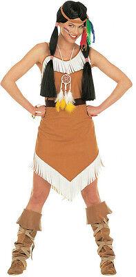 Indianer Kostüm Pocahontas für Damen NEU - Damen Karneval Fasching Verkleidung - Kostüm Für Indianer