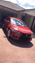 Red 2008 Mitsubishi Sportback VRX Lancer Belconnen Belconnen Area Preview