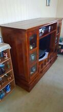 Solid timber TV Cabinet / Wall Unit Upper Mount Gravatt Brisbane South East Preview