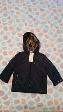 Boys coat size 3 Myer brand Jack & Milly Navy Blue Coat New with Tags Redcliffe Belmont Area Preview