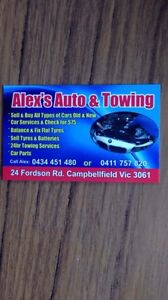Towing and wreckers Campbellfield Hume Area Preview