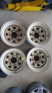Second hand sunraysia rims 15x8 -22 6x139 Tingalpa Brisbane South East Preview