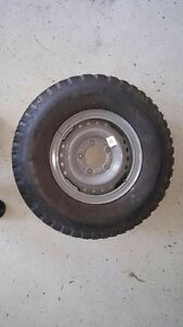secondhand landcruiser 16 inch split rim with 7.50r16 Dunlop Tingalpa Brisbane South East Preview