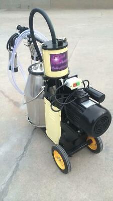 4mul8 Machinery - Piston Pump Milking Machine For Cows - Single Tank Extras