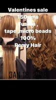 Quality Remy Hair extensions