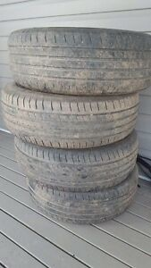 4 205/60 R16 tires and rims