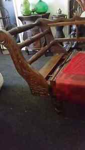 Antique  miners couch Parrearra Maroochydore Area Preview