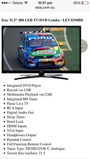 Brand New TEAC TV/DVD Combo-Unwanted Raffle Win Wakeley Fairfield Area Preview