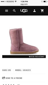 UGGS Pink size 5.5 excellent condition