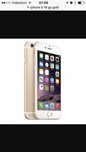 Iphone 5s 16 go gold