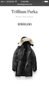 Canada Goose Ladies Brand New coat