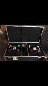 Mac 250 Entours with road cases