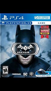 Batman Arkham VR for PS4 ***price reduced!!  Cornwall Ontario image 1
