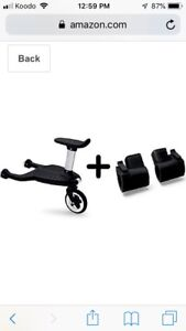 2015 Bugaboo Comfort Wheeled Board with Bee adaptors