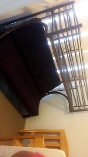 Bunk bed with futon mattress included