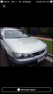 2003 Ford Falcon XL Automatic Ute Bacchus Marsh Moorabool Area Preview