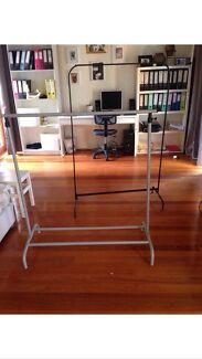 2 fashion hanger racks Annandale Leichhardt Area Preview