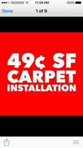 CARPET FOR LESS WON'T BE BEAT !!     ☎️ CALL TEXT 416 625 2914