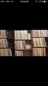 Looking for records, cd's, DVDs, cassettes