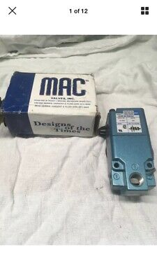 Mac Pneumatic Solenoid Valve 6323D-611-PM-591DA PME-591DAAG 24vdc Directional