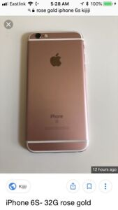Brand new iPhone 6s rose gold 32 gb