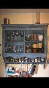 Antiqued Wall Unit